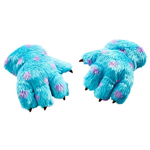 Disney and Pixar Monsters, Inc. Sulley Plush Claw Wearable Life Size Gloves Roleplay Toy For Kids 3 Yrs and Up