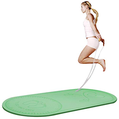 Colchonetas LJ Esterilla de Yoga Antideslizante, Esterilla Deporte, Jump Rope, Pilates,Fitness, Gimansia y Deportes Material TPE