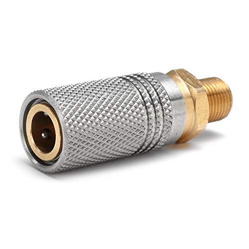 Schnellspanner-Adapter für PCP-Luftladegerät, Edelstahl, 1/8 BSP