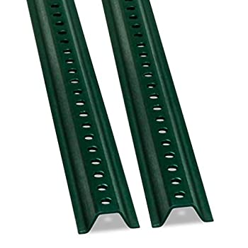SmartSign - K-153-8M-2 U-Channel Sign Post Medium Weight   8  Tall Baked Enamel Steel Post - Pack of 2