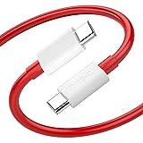 TITACUTE Cable USB C a USB C para OnePlus 8T, Tipo C Warp Charge 65, Cable de Carga rápida Compatible con Galaxy S20 FE/Galaxy Note20 Ultra, Google Pixel 5 y más.