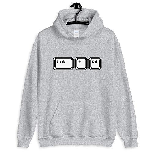 Natural Verve Retro Keyboard Block + Delete Boujee Hooded Sweatshirt