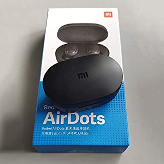 Xiaomi Redmi Airdots Black Bluetooth Earphones Youth Mi True Wireless Headphones Bluetooth 5.0 TWS Air Dots