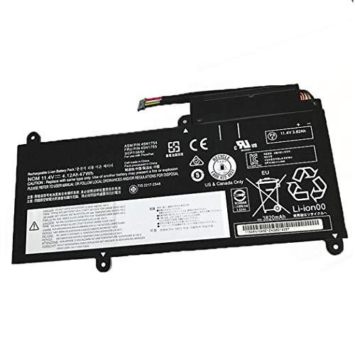 7xinbox 47Wh 11,4V 45N1752 45N1753 Ersatzakku für Lenovo ThinkPad E450 E460 E460C E465 E470 E470C E475 Serie, Edge E460 E470 Serie, 45N1754 45N1755 45N17 56 45N1757