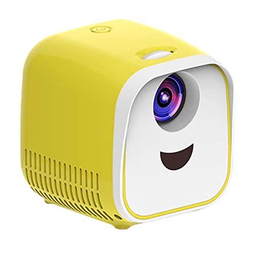 EXCEART Mini Proyector Led Video Proyector Hogar Proyección Equipo Portátil