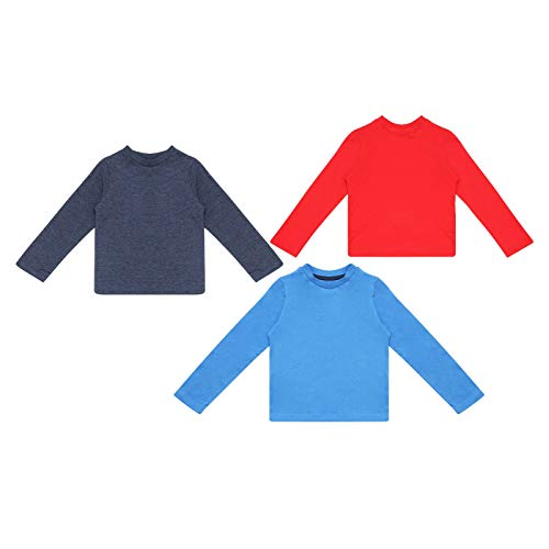 Baby Boys 3 Pack Tops Long Sleev...