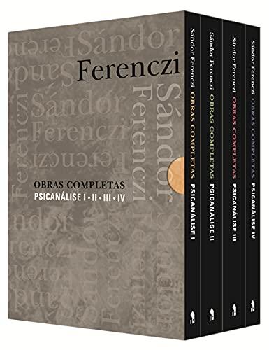 Obras Completas: Psicanálise - Box 4 Volumes