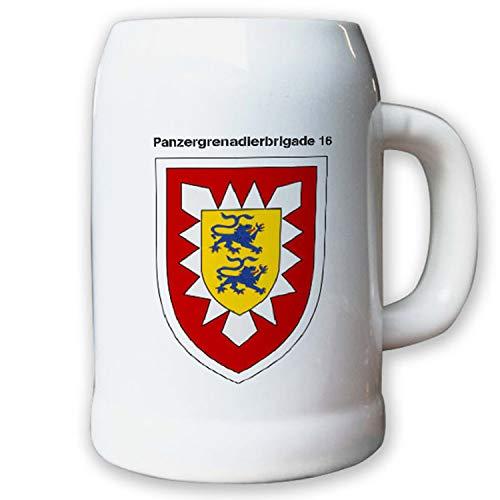 Krug/Bierkrug 0,5l -26.Bierkrug Panzergrenadierbrigade 16 PzGrenBrig #12990
