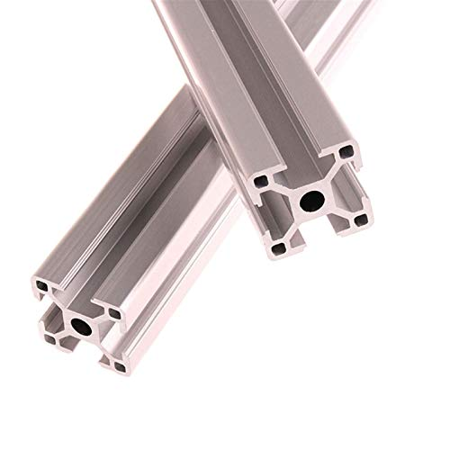 ZHANGAIGUO Extrusion Frame, 3030 Aluminum Profile Extrusion 100mm-1000mm Length Anodized for CNC 3D Printer Parts DIY 2PCS (Color : 200mm)