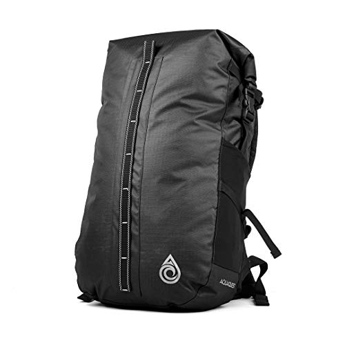 Aqua Quest Cloudbreak Waterproof Backpack - Large 30L DryBag Daypack Great for Outdoors, Travel in All Weather (Charcoal)