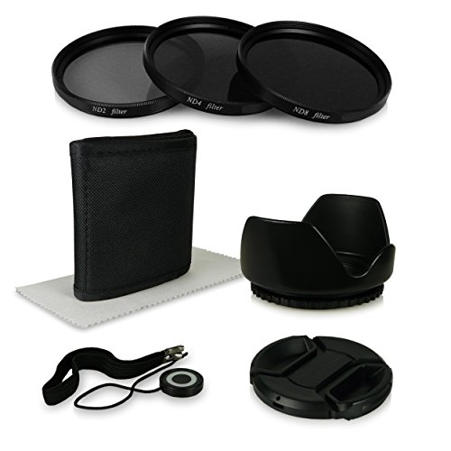 55mm 6in1 Pack de Accesorios - Filtros (ND2 + ND4 + ND8)...
