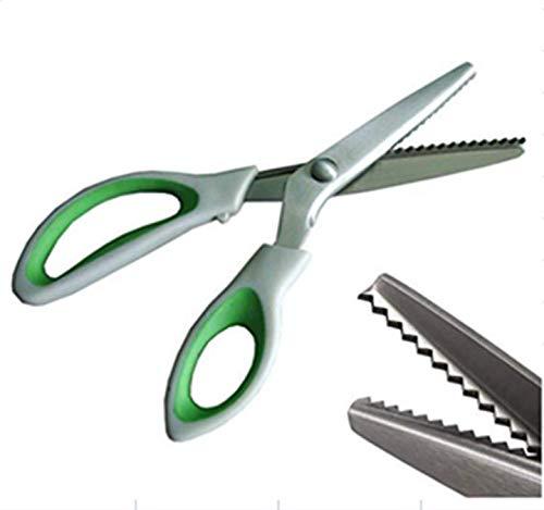 XIE Forbici professionali da sartoria Pinking Crafts Zig Zag Cut Forbici | Pinking Shears per Tessuti | Bordi smerlati | Forbici professionali da cucito
