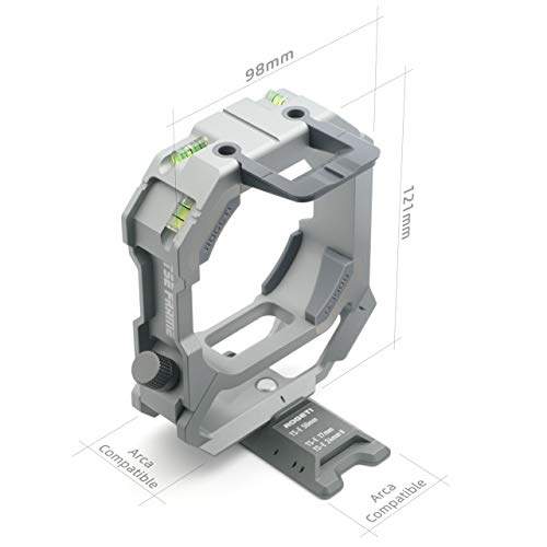 ROGETI TSE Frame/TSE Bracket Mark III+ for Canon TS-E 17mm f/4L and Canon TS-E 24mm f/3.5L II Tilt Shift Lens Including Panorama nodal Plate