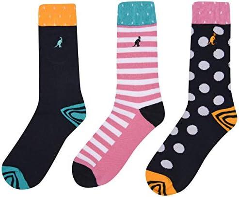Kangol Women s Formal Socks 3 Pack Navy Pattern 6 10 product image
