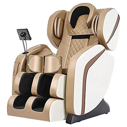 Rpvati New Massage Chair,Zero-Gravity,Integrated Fullbody Massage Deckchair,8D Space Capsule,Shiatsu...