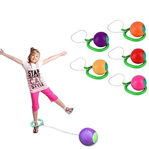 NSDD Skip Ball, juguete de coordinación y equilibrio de salto para niños, cuerda de saltar, pelota de baile deportiva, juegos de pelota de juguete
