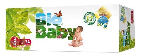 Moltex - BBPA3 - Pañales Moltex Bio Baby T3 (7-10 kg) 34 uds