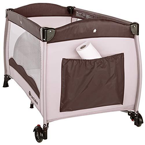 TecTake Kinderreisebett mit Schlafunterlage und praktischer Transporttasche – diverse Farben – (Coffee | Nr. 402417) - 5