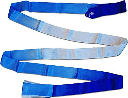 Pastorelli - Cinta de Gimnasia rítmica, 6 m, Blue-Sky Blue-White