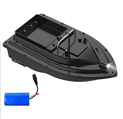500m RC Pesca Bait Boat RC Fish Finder Rowing Nesting Barco Gancho Barco Automático Solo Almacén Speedboat Juguetes, Barco Cebador, WQQWQQ-8521 (Color : EU)