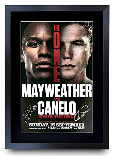 HWC Trading Mayweather Canelo Fight Floyd Mayweather Jr. vs. Canelo Álvarez Gifts -...