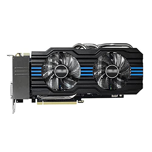 Fit for ASUS GTX 970 4GB Tarjeta gráfica GPU NVIDIA Geforce GTX970 4G OC Tarjetas de Video PUBG Desktop PC Map GTX 750570730 VGA