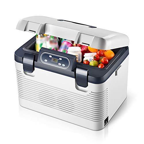 Nevera Portatil 19 litros, Refrigerador Termoeléctrico Frío y Calor, Congelador Mini AC/DC, para Coche, Medicamentos, Hogar, Camping, Picnic, Barbacoa, Patio y Viajes