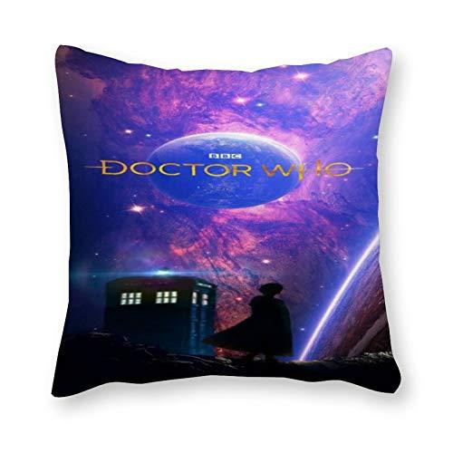 Doctor Who - Cojín de almohada (40 x 40 cm, lona), diseño pop art