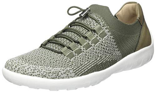 Remonte Damen R3514 Slip On Sneaker, Grün (Khaki-Grey/Olive 54), 43 EU