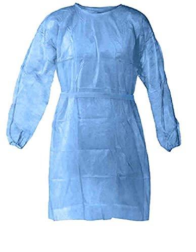 10 Stück Einweg-Schutzkleidung, isolierende Schutzkleidung, öl- und Antifouling-Kleidung, hochwertige Pflegekleidung, Virenschutzkleidung, ölbeständige Reinigungsoveralls