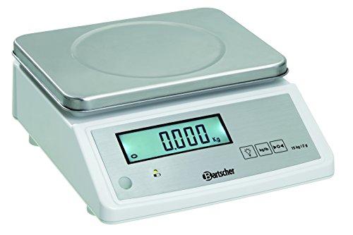 Bartscher Elektronische Küchenwaage 15kg, Teilung 2g - A300118