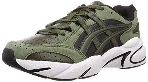 Asics Gel-BND, Chaussures de Handball Homme, Vert (Olive Canvas/Olive Canvas 300), 43.5 EU