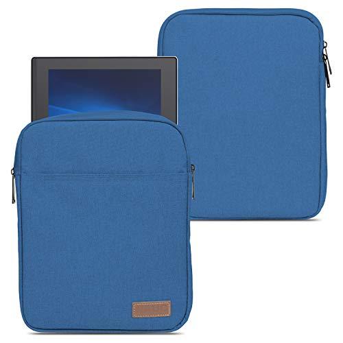 NAUC Funda compatible con Lenovo IdeaPad Duet Chromebook 10,1 pulgadas, funda convertible, color gris, negro y azul