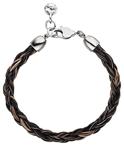 Buntes Pferdehaar Armband // Länge 17.5 cm Durchmesser 0,5cm