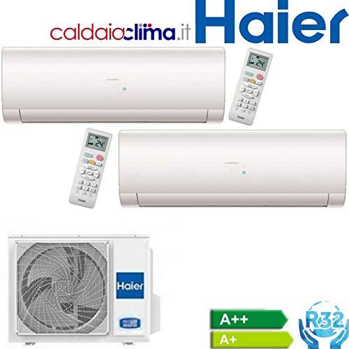 Climatiseur Haier Dual Split série IES R-32 9000 + 12000 avec 2U50S2SC1FA Wi-Fi Optional