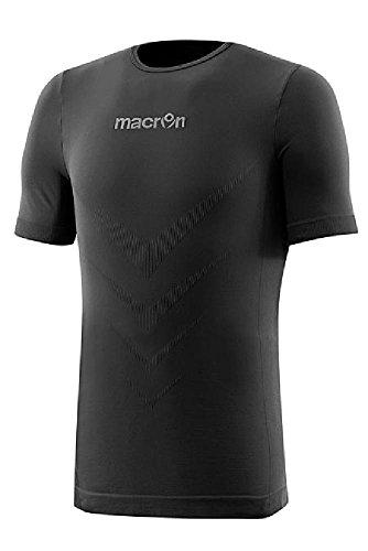 CHEMAGLIETTE! T-shirt à manches courtes sport technique Macron Performance, noir, taille XXL
