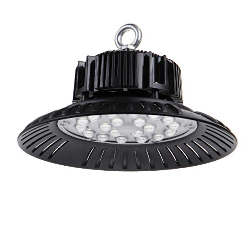 200W UFO LED High Bay Light 150W LED UFO Commercial Bay Lighting 100W 50W Outdoor Security Light 20000LM 6500K IP65 Waterproof Cold White Industrial lamp for Garage Factory Workshop Gym