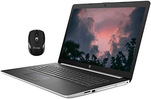 2020 Premium HP 17 Laptop Computer 17.3' FHD IPS Display 10th Gen Intel Quad-Core i5-1035G1 (Beats i7-8550U) 32GB DDR4 512GB SSD DVD Backlit KB WiFi HDMI Win 10 Pro + iCarp Wireless Mouse