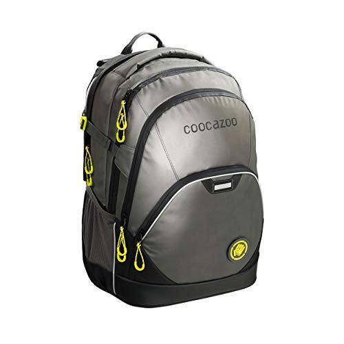 Coocazoo City and School EverClevver 2 Reflective Schulrucksack 45 cm Reflective Grey