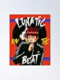 guyfam Suga Lunatic On The Beat Poster 12x16 Inch No Frame