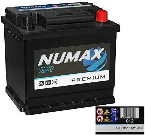 Numax Premium 012, Batteria auto, 12V = 45AH = 400A (EN)
