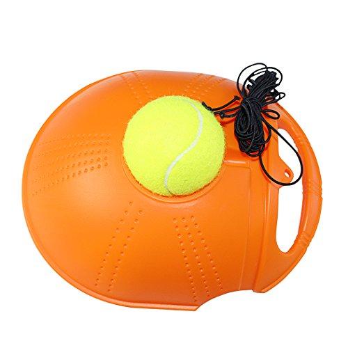 Fansport Allenatore di Tennis, Strumento di Allenamento del Tennis Palla di Tennis di Esercizio di Auto Studio Dispositivo di Rimbalzo della Battiscopa della Sfera di Rimbalzo