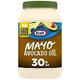 Kraft Mayo Avocado Oil Reduced Fat Mayonnaise (30 oz Jar)-packaging may vary