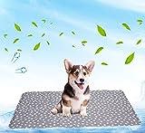 Brabtod Cama de refrigeración para perros, tamaño grande, no tóxica, cojín...