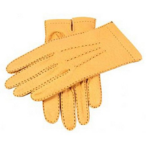 Dents Cork Handsewn gants de Peccary sans doublure 7