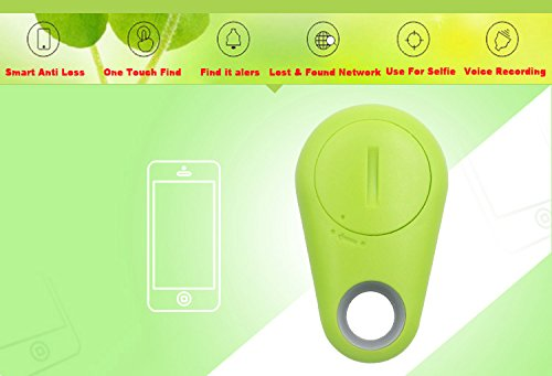 Best Wireless Bluetooth Tracking Device Phone Wallet Key Bag Pet Dog child Tracker Locator Finder Anti-lost Tag Remote Selfie Shutter Bluetooth-GPS