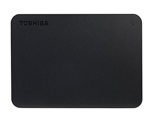 Toshiba HDTB405EK3AA Canvio Basics Tragbare Externe Festplatte USB 3.0, 500GB schwarz