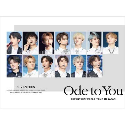 SEVENTEEN WORLD TOUR 'ODE TO YOU' IN JAPAN (2DVD)【初回限定盤】(ブックレット100P メンバー直筆プリント手紙封入 フォトカード1枚(13種ランダム) ver.2)