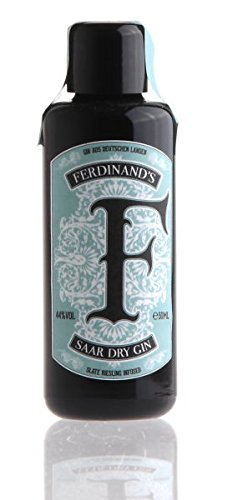 FERDINAND'S Saar Dry Gin MINIATUR 50ml, 44% vol.