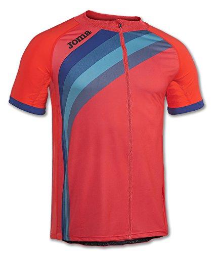 Joma - Maillot Ciclismo Coral flúor m/c para Hombre
